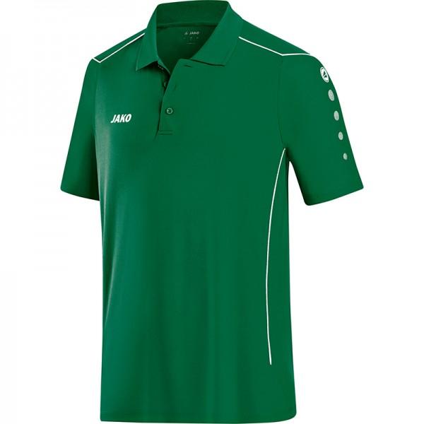 Jako Polo Cup Herren grün/weiß 6383-02