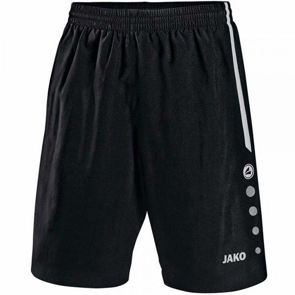 Jako Sporthose Turin ohne Innenslip Herren schwarz/weiß 4462-08