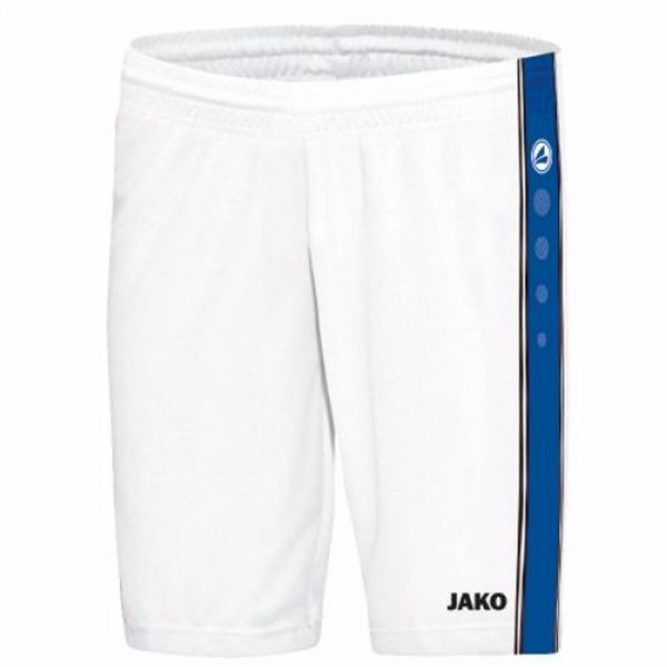 Jako Short Center Kinder weiß/royal 4401-14