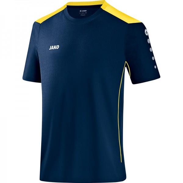 Jako T-Shirt Cup Herren marine/citro