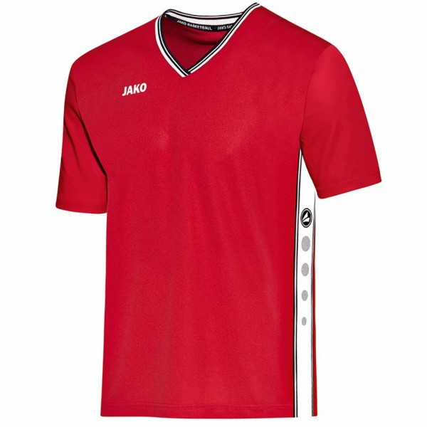 Jako Shooting Shirt Center Kinder rot/weiß 4201-01