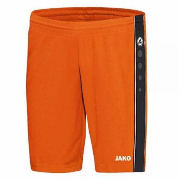 Jako Short Center Kinder neonorange/schwarz 4401-19