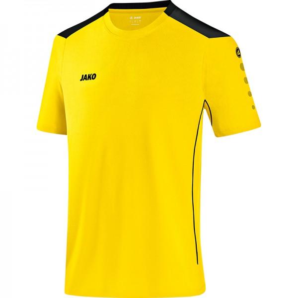 Jako T-Shirt Cup Herren citro/schwarz 6183-03