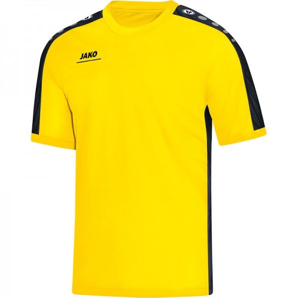 Jako T-Shirt Striker Herren citro/schwarz 6116-03