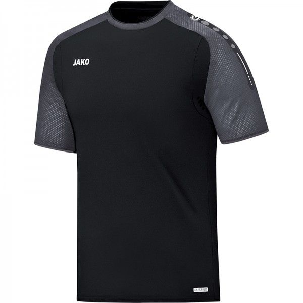 Jako T-Shirt Champ Herren schwarz/anthrazit 6117-21