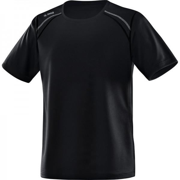 Jako T-Shirt Run Herren schwarz