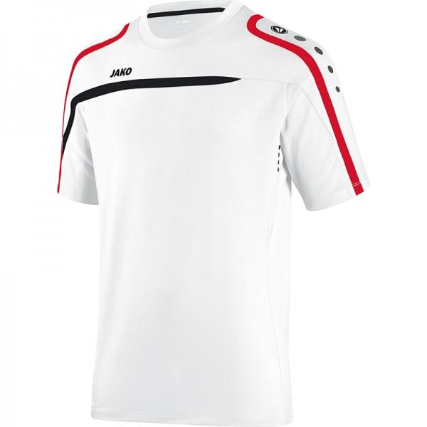 Jako T-Shirt Performance Herren weiß/schwarz/rot 6197-00