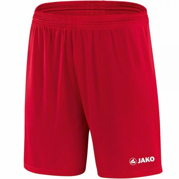 Jako Sporthose Manchester mit JAKO Logo, ohne Innenslip Kinder rot 4412-01
