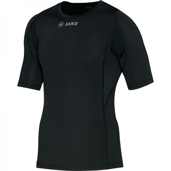 Jako T-Shirt Compression Herren schwarz 6177-08