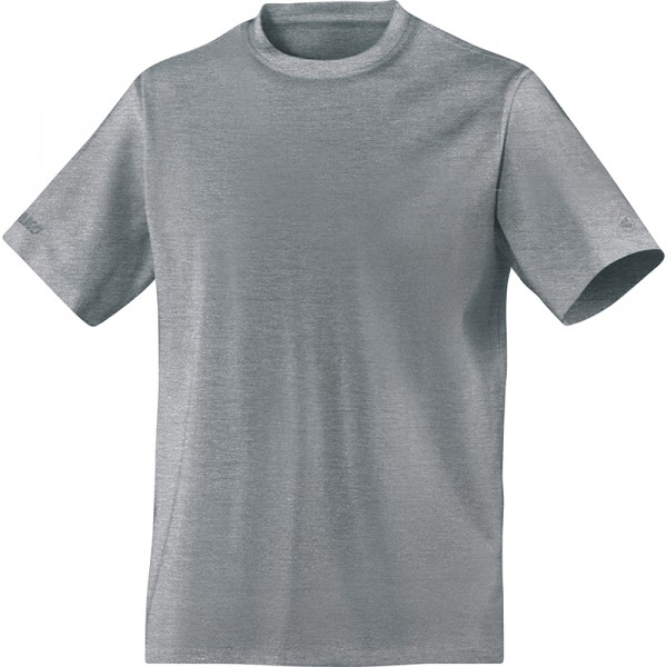 Jako T-Shirt Classic Herren grau meliert 6135-41
