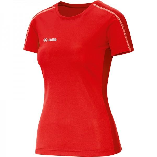Jako T-Shirt Sprint Damen rot 6110-01