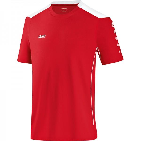 Jako T-Shirt Cup Herren rot/weiß