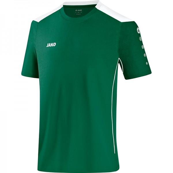 Jako T-Shirt Cup Herren grün/weiß 6183-02