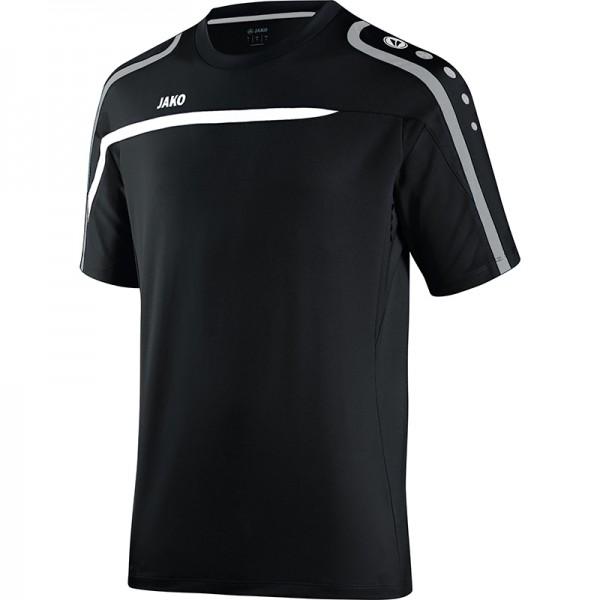 Jako T-Shirt Performance Herren schwarz/weiß/grau 6197-08