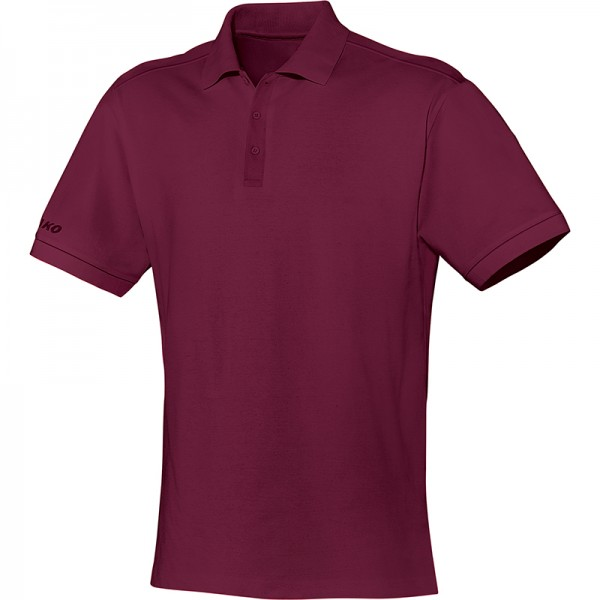 Jako Polo Team Herren bordeaux