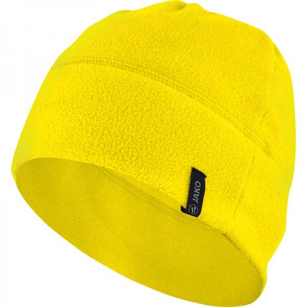 Jako Fleecemütze 2.0 gelb 1221-03