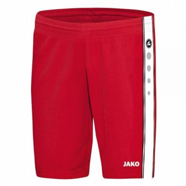 Jako Short Center Kinder rot/weiß