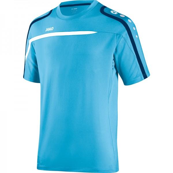 Jako T-Shirt Performance Herren aqua/weiß/marine