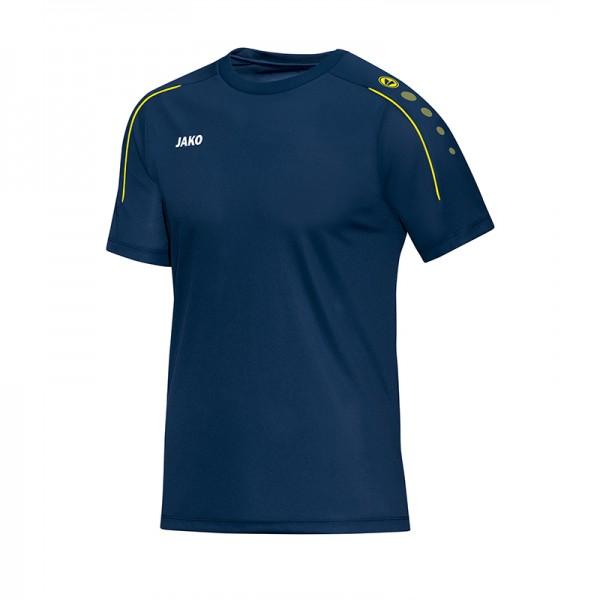 Jako T-Shirt Classico Herren nightblue/citro 6150-42