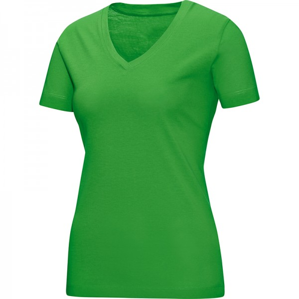 Jako T-Shirt V-Neck Damen soft green 6113-22
