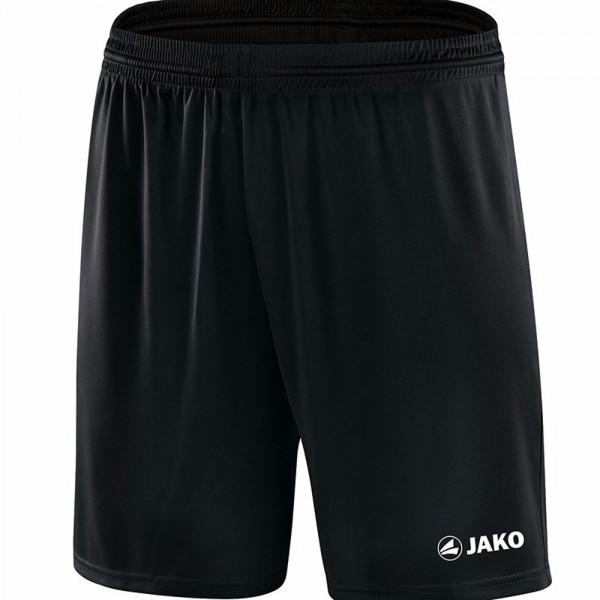 Jako Sporthose Manchester mit JAKO Logo, ohne Innenslip Kinder schwarz 4412-08