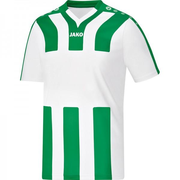 Jako Trikot Santos KA Kinder weiß/sportgrün 4202-60