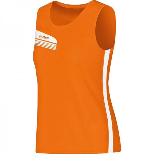 Jako Tank Top Athletico Damen orange/weiß 6025-19