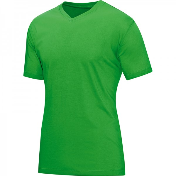 Jako T-Shirt V-Neck Herren soft green