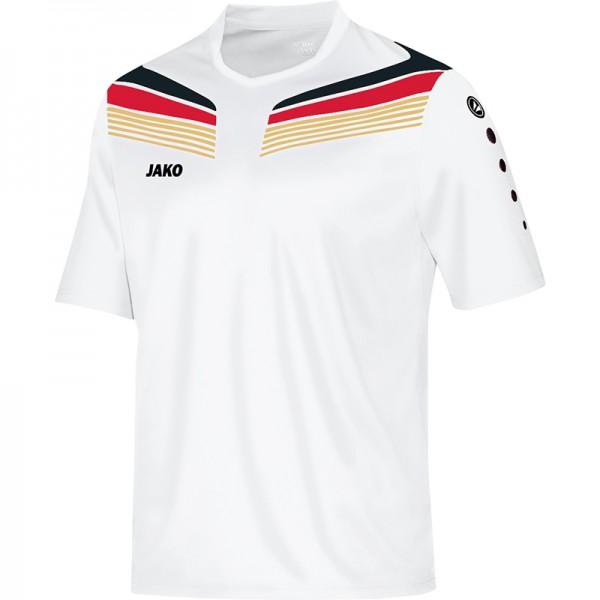 Jako T-Shirt Pro Herren weiß/schwarz/rot/gold 6140-14