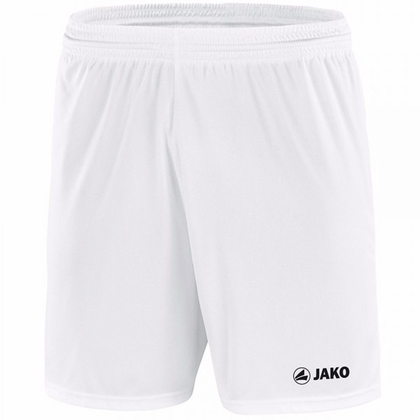 Jako Sporthose Manchester mit JAKO Logo, ohne Innenslip Kinder weiß 4412-00