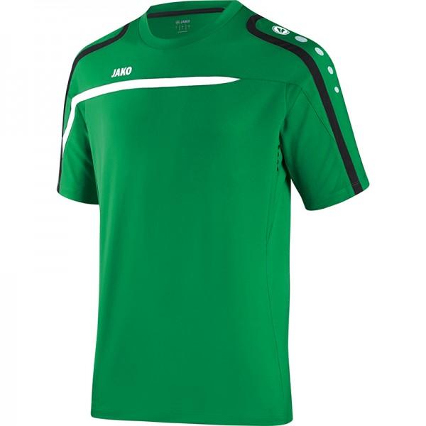 Jako T-Shirt Performance Herren sportgrün/weiß/schwarz 6197-06