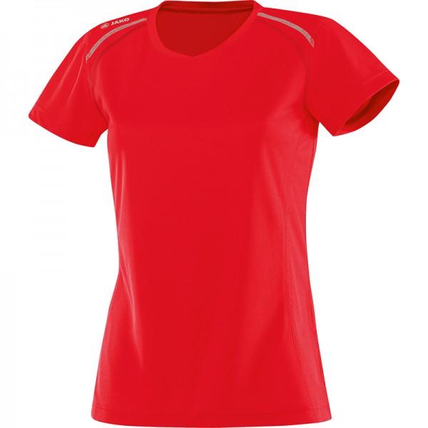Jako T-Shirt Run Damen rot 6115-01