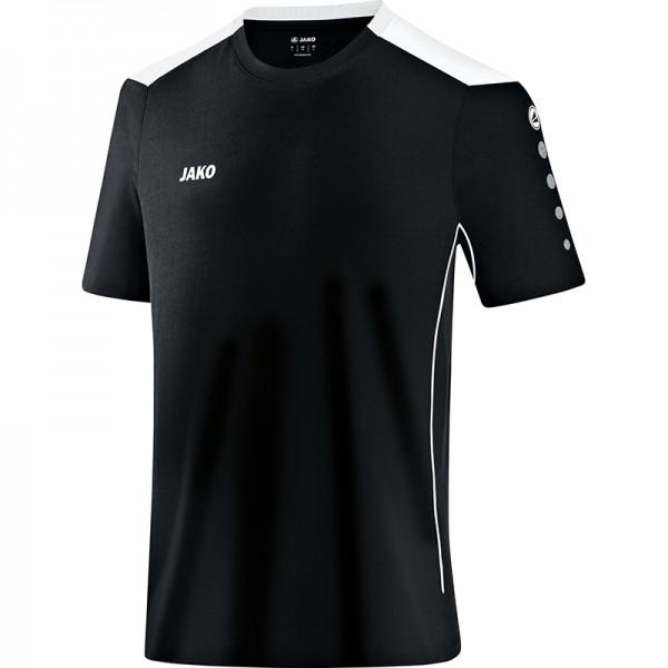 Jako T-Shirt Cup Herren schwarz/weiß 6183-08