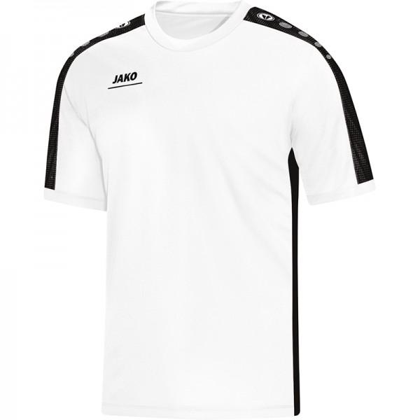 Jako T-Shirt Striker Herren weiß/schwarz 6116-00