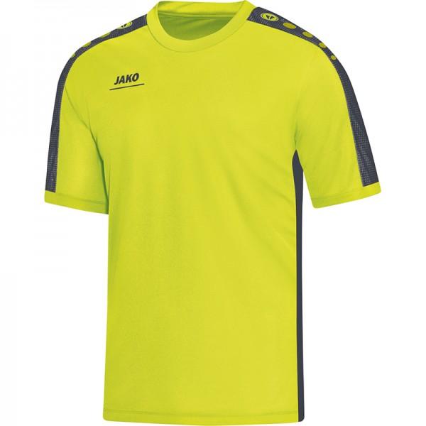 Jako T-Shirt Striker Herren lime/anthrazit 6116-23