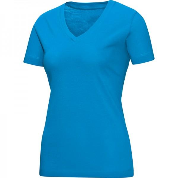 Jako T-Shirt V-Neck Damen JAKO blau 6113-89