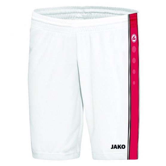 Jako Short Center Herren weiß/rot