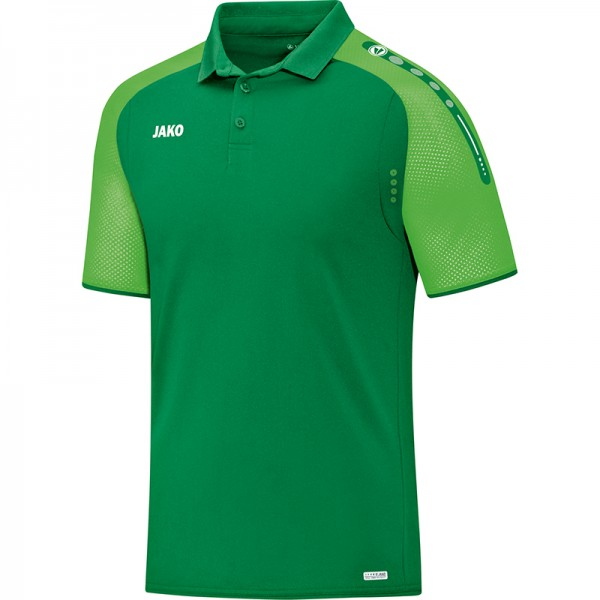 Jako Polo Champ Herren sportgrün/soft green 6317-22