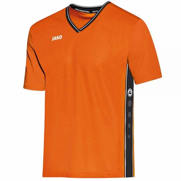 Jako Shooting Shirt Center Herren neon orange/schwarz 4201-19
