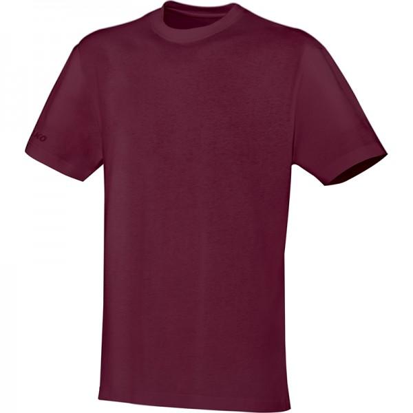 Jako T-Shirt Team Herren bordeaux