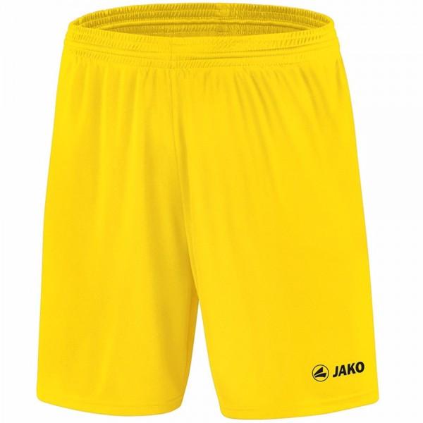Jako Sporthose Manchester mit JAKO Logo, ohne Innenslip Kinder citro 4412-03