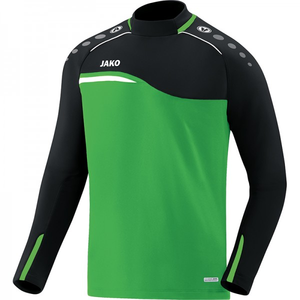 Jako Sweat Competition 2.0 Herren soft green/schwarz