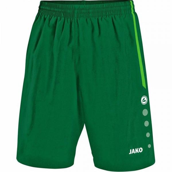 Jako Sporthose Turin ohne Innenslip Kinder grün/sportgrün