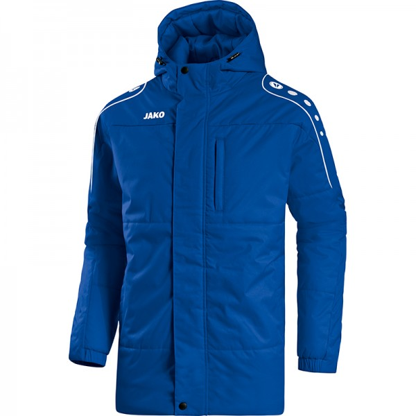 Jako Coachjacke Active Herren royal/weiß 7197-04