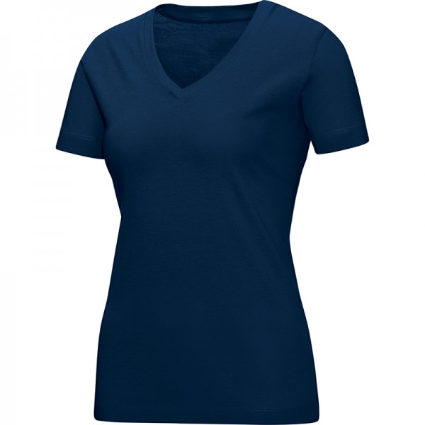 Jako T-Shirt V-Neck Damen marine 6113-09