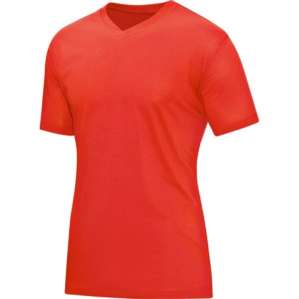 Jako T-Shirt V-Neck Herren flame 6113-18