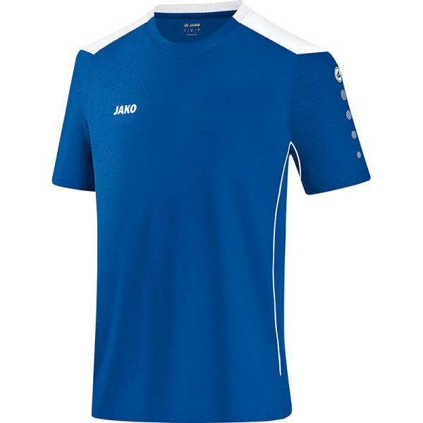 Jako T-Shirt Cup Herren royal/weiß