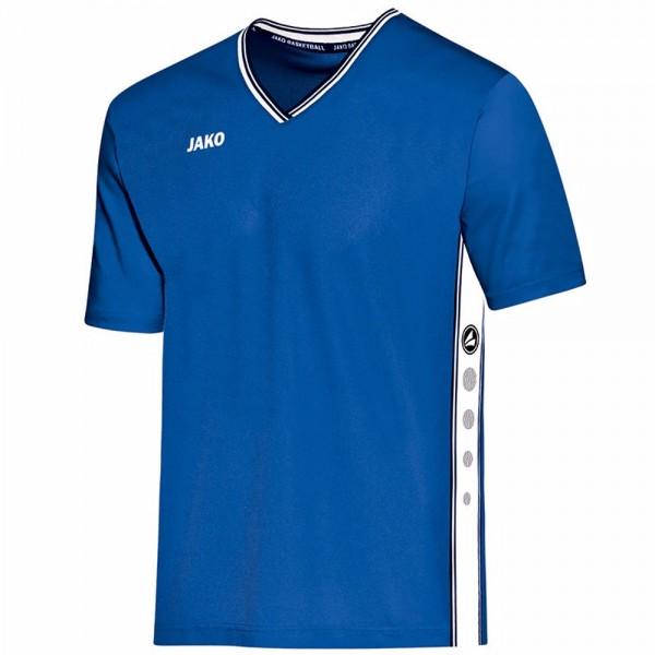 Jako Shooting Shirt Center Kinder royal/weiß