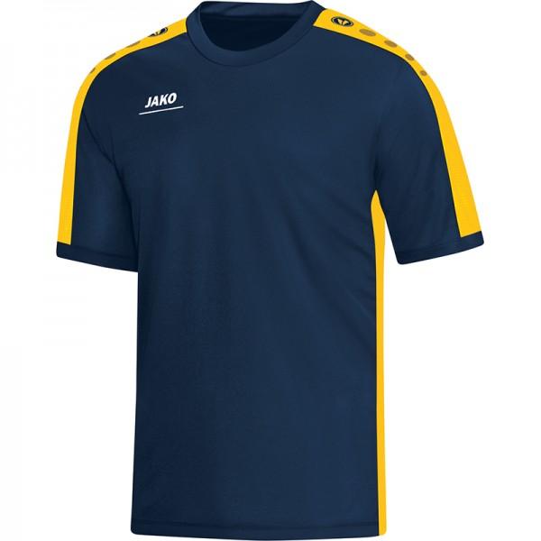 Jako T-Shirt Striker Herren marine/gelb 6116-42