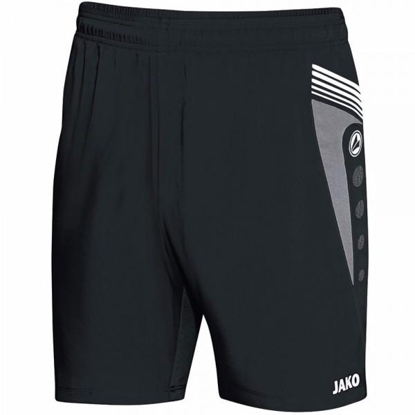 Jako Sporthose Pro Herren schwarz/grau/weiß
